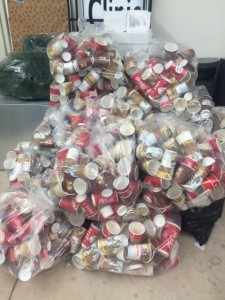 All these coffee cups are not recyclable in Niagara and will end up in our landfills