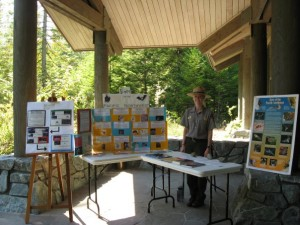 Telling NPS park visitors about the bats that call the North Cascades home.